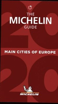 bokomslag Main cities of Europe - The MICHELIN Guide 2020