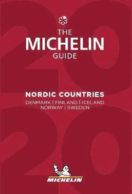 bokomslag Nordic Countries - The Guide Michelin 2020