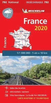 bokomslag France 2020 - High Resistance National Map 792