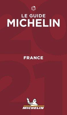 bokomslag France - The MICHELIN Guide 2021: The Guide Michelin