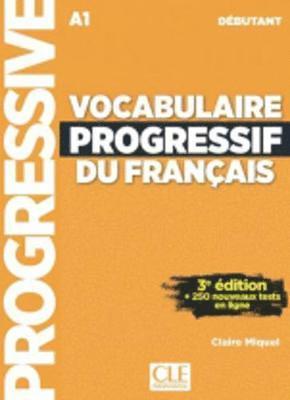 bokomslag Vocabulaire progressif du francais - Nouvelle edition: Livre A1 + CD + Appli