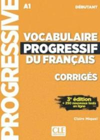 bokomslag Vocabulaire progressif du français débutant A1 - Corrigés