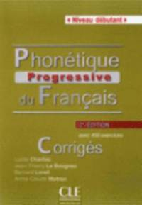 bokomslag Phonétique progressive du francais - 2e edition