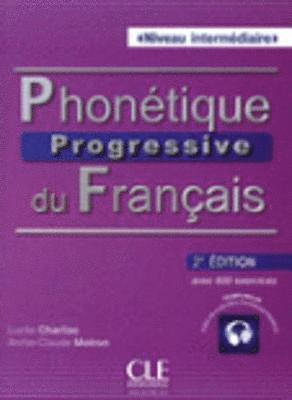 bokomslag Phonétique progressive du français Niveau intermédiaire