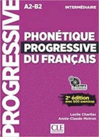 bokomslag Phonétique progressive du français intermédiaire - Avec 600 exercices
