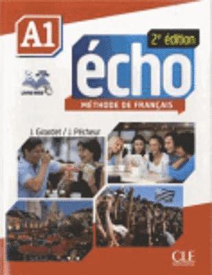 bokomslag Echo Methode de Francais A1 Student Book & Portfolio & DVD [With DVD ROM]
