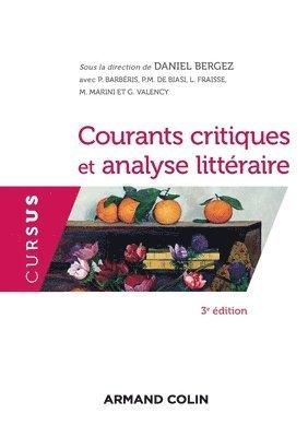bokomslag Courants critiques et analyse littéraire