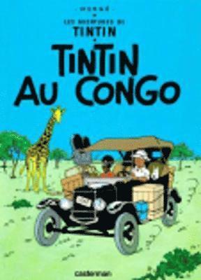 bokomslag Tintin au congo
