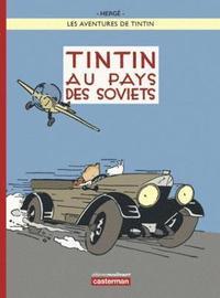 bokomslag Tintin au pays des Soviets - Couleur