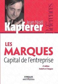 bokomslag Les marques Capital de l'entreprise
