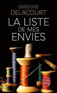 bokomslag La liste de mes envies