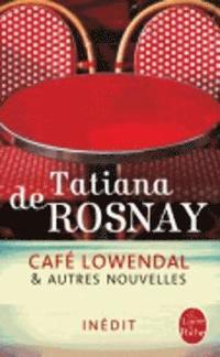 bokomslag Cafe lowendal et autres nouvelles
