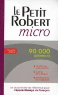 bokomslag Le petit robert micro