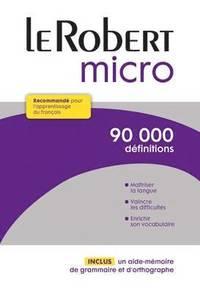 bokomslag Le Robert Micro - Dictionnaire d'apprentissage du français