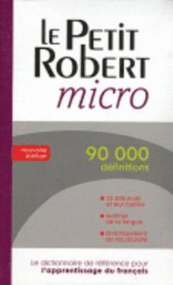 bokomslag Le Robert micro poche - Dictionnaire d'apprentissage du français