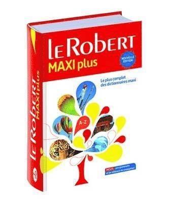 bokomslag Le Robert maxi plus langue française 2017