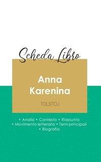 bokomslag Scheda libro Anna Karenina di Lev Tolstoj (analisi letteraria di riferimento e riassunto completo)