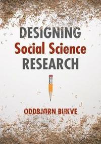 bokomslag Designing Social Science Research