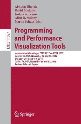 bokomslag Programming and Performance Visualization Tools