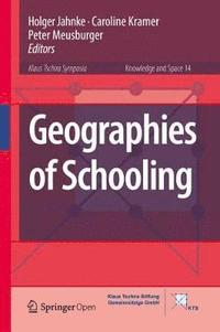 bokomslag Geographies of Schooling