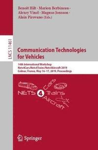 bokomslag Communication Technologies for Vehicles