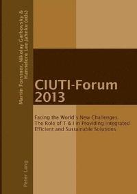 bokomslag CIUTI-Forum 2013