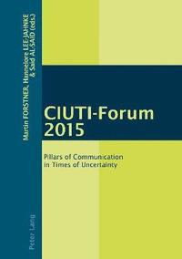 bokomslag CIUTI-Forum 2015