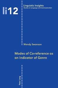 bokomslag Modes of Co-reference as an Indicator of Genre: v. 12