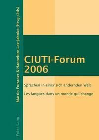 bokomslag CIUTI-Forum 2006
