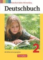 bokomslag Deutschbuch 2: 6. Schuljahr. Schülerbuch Realschule Baden-Württemberg