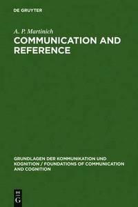 bokomslag Communication and Reference