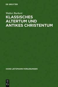 bokomslag Klassisches Altertum und antikes Christentum