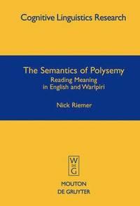 bokomslag The Semantics of Polysemy