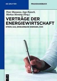 bokomslag Vertrage Der Energiewirtschaft