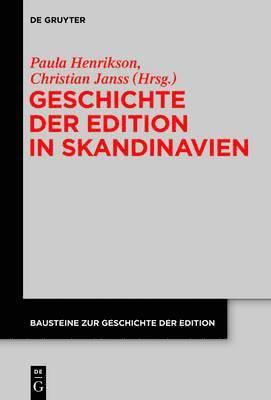 bokomslag Geschichte der Edition in Skandinavien