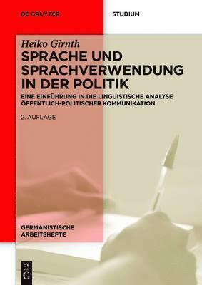 bokomslag Sprache und Sprachverwendung in der Politik