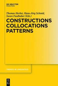 bokomslag Constructions Collocations Patterns
