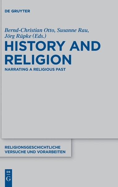 bokomslag History and Religion