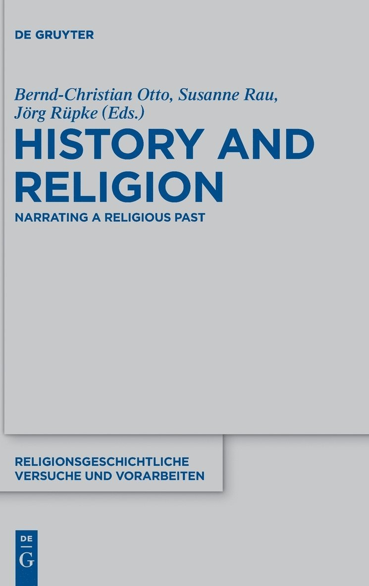 History and Religion 1