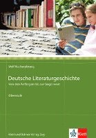 bokomslag Deutsche Literaturgeschichte