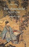 bokomslag Die chinesische Literatur