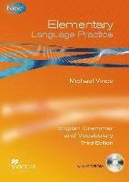 bokomslag Elementary Language Practice. Student's Book with CD-ROM and key
