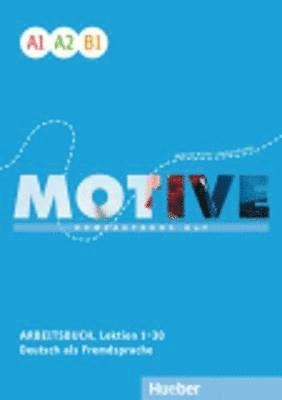 bokomslag Motive - Kompaktkurs DaF : Arbeitsbuch A1-B1