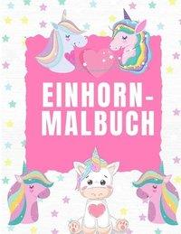 bokomslag Einhorn-Malbuch