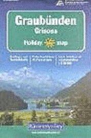 bokomslag KuF Graubünden 1 : 120 000. Holiday Map