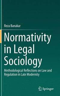 bokomslag Normativity in Legal Sociology