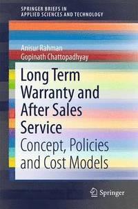 bokomslag Long Term Warranty and After Sales Service