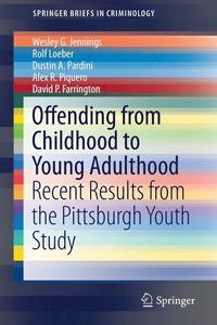 bokomslag Offending from Childhood to Young Adulthood