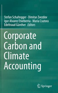 bokomslag Corporate Carbon and Climate Accounting