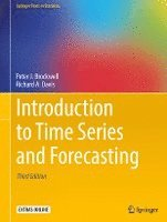 bokomslag Introduction to Time Series and Forecasting: 2016